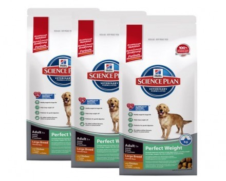 3st Hill's Science Plan Canine Perfect Weight Large Chicken 12 kg