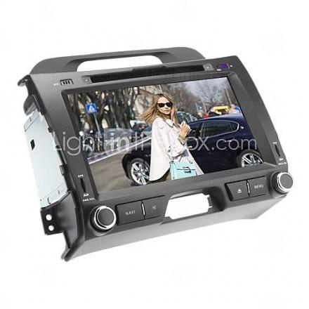 8 ''2-DIN bil dvd-spelare för Kia Sportage r (2010-2012) Med GPS, Bluetooth, RDS, 3G, Can-Bus, iPod, SWC, RDS