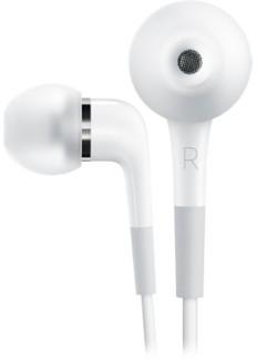 Apple In-Ear-hörlurar med fjärrkontroll och mikrofon