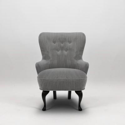 April fåtölj, ducale grey