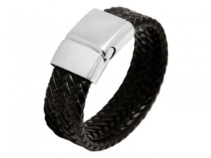 Armband Wynand Leather Black