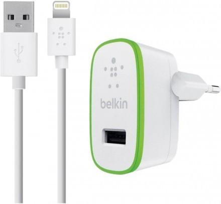 Belkin Strömadapter + Lightning-USBkabel