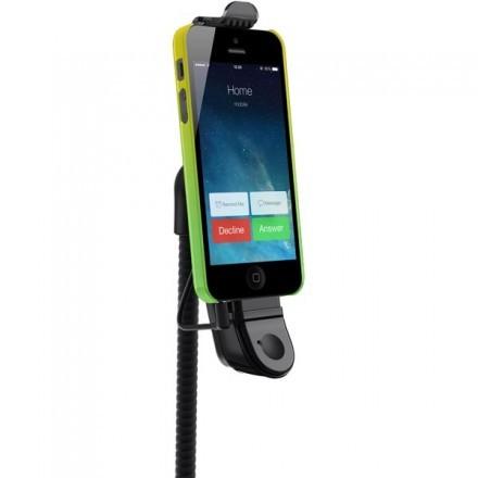 Belkin TuneBase AUX bilhållare, AUX, handsfree, iPhone 5/5S/5C