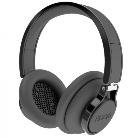 BOOM Rouige Over-Ear DJ Headphones Black