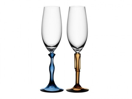 Champagneglas Kosta Boda Two Of Us 2 st