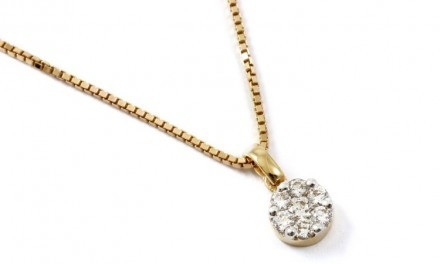 Diamondo Hänge 18k Diamant 0,35ct