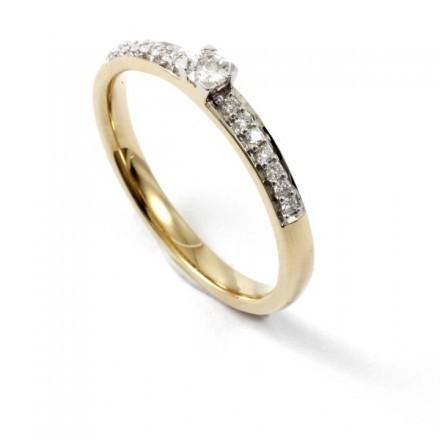 Diamondo Ring 18k Diamant 0,26ct