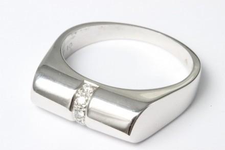 Diamondo Ring 18k Vitguld Diamant
