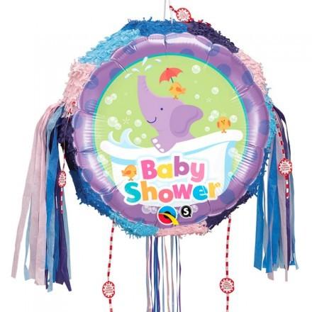 Elefant Baby Shower, Pinata Rund