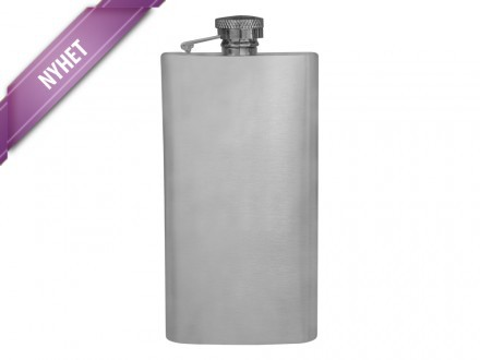 Fickplunta Steel Flask Long