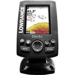 Handh?llen GPS Lowrance Elite-3x Fischfinder (000-11448-001)