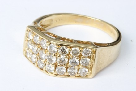 Hedbergs Ring 18k Guld Diamant