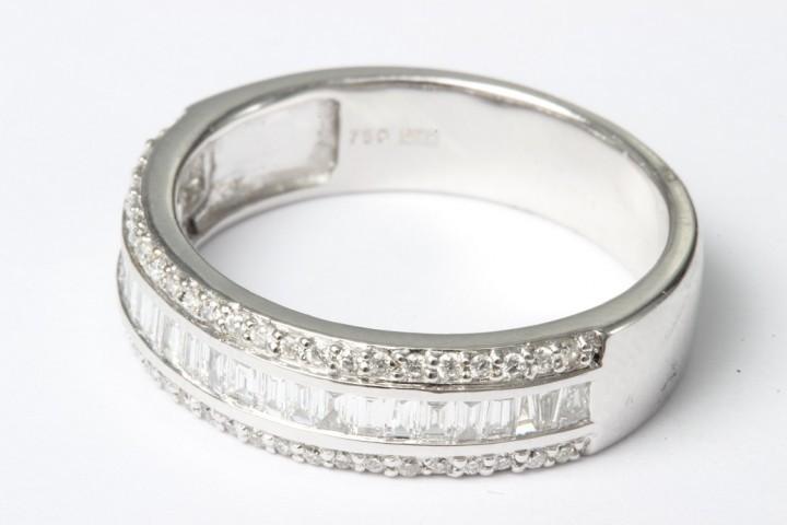 Hedbergs Ring 18k Vitguld Diamant