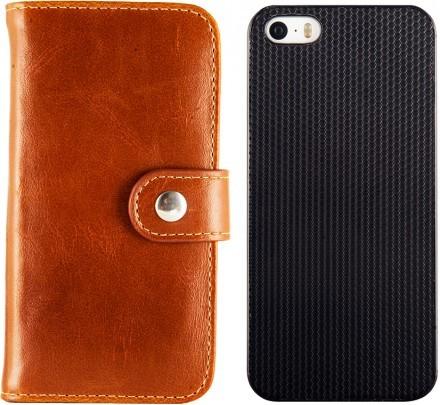 iDeal of Sweden Magnet Wallet (iPhone 5/5S) - Brun