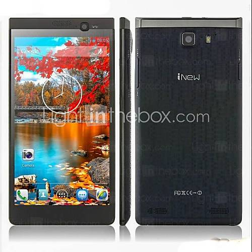"iNew i8000 5.5"" Android 4.2 WCDMA Smartphone(Dual Camera,Dual SIM,3G,OTG,MTK6582,1"