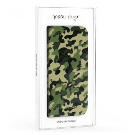 iPhone 5/5S Flip Case Camouflage