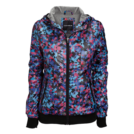 Jenna Jacket, blocks blue, XS