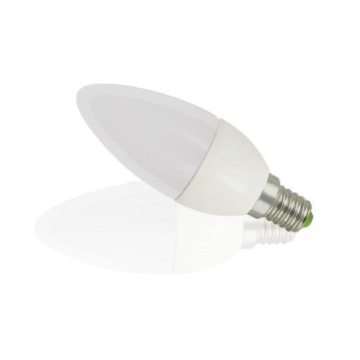 LED kronljuslampa TEHO E14, 5W, 350lm, varm vit 3000K