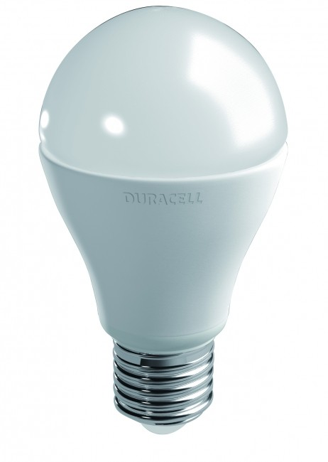 LED-lampa DURACELL E27 9W 806lm 3000K