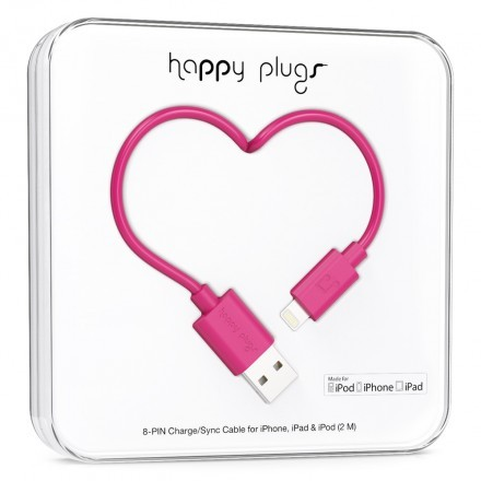 Lightning Charge/Sync Cable Cerise