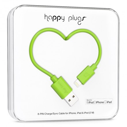 Lightning Charge/Sync Cable Green