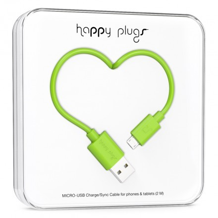 Micro-USB Charge/Sync Cable Green