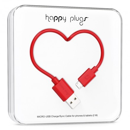 Micro-USB Charge/Sync Cable Red