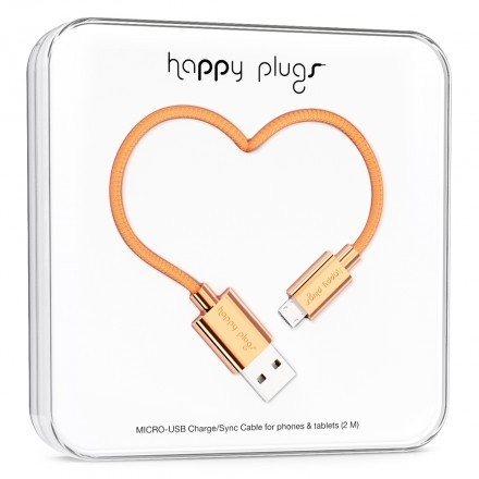 Micro-USB Charge/Sync Cable Rose Gold
