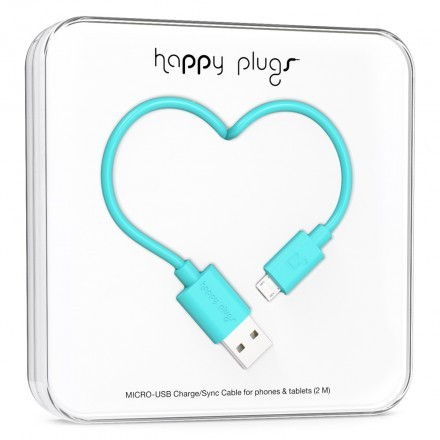 Micro-USB Charge/Sync Cable Turquoise