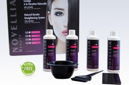 Novellia Keratinbehandling för stylat hår