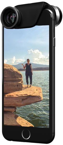 Olloclip 4-in-one Kameralins (iPhone 6/6 Plus) - Guld