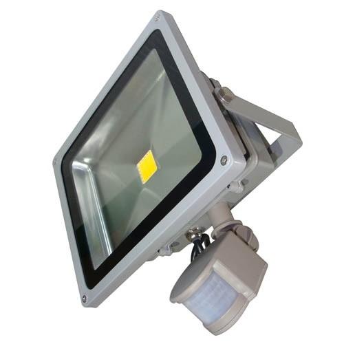 PANGERBJUDANDE! LED strålkastare med rörelsesensor (Meanwell), 30 W, 230V, 2400lm, 4500K, IP44