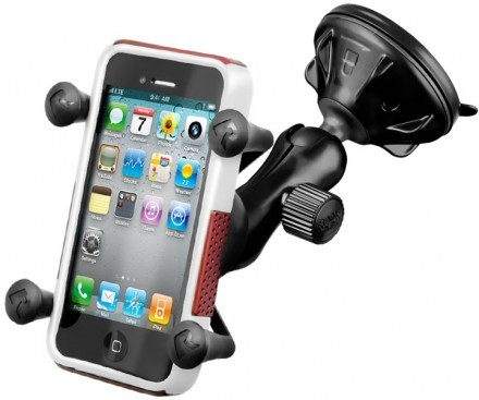 RAM Mount - X-Grip med sugkopp (iPhone)