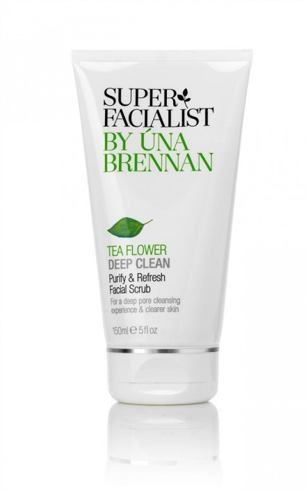SuperFacialist Purify & Refresh Facial Scrub (Tea Flower) 150ml