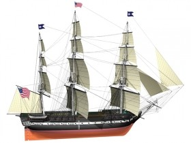 USS Constitution, Billing boats