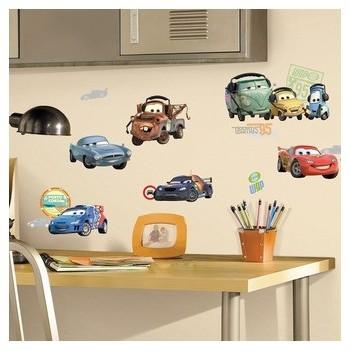 Väggdekaler Cars McQueen och vänner