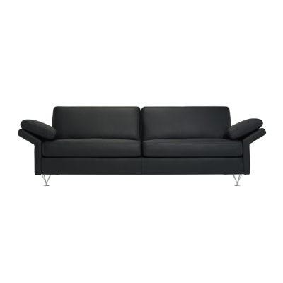 Wind 3-sits soffa Classic Soft läder, svart