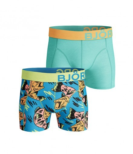 2-pack Shorts Crazy Fish