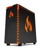 (98) Desktop-Gaming Heat Gaming 960 Black Edition
