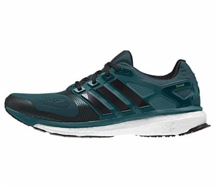 Adidas - Energy Boost 2 ESM Herr löparskor (mörkgrön/svart) - EU 42 2/3 - UK 8,5 - EU 42 2/3 - UK 8,5