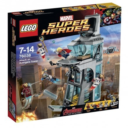 Attack on Avengers Tower, Lego Super Heroes