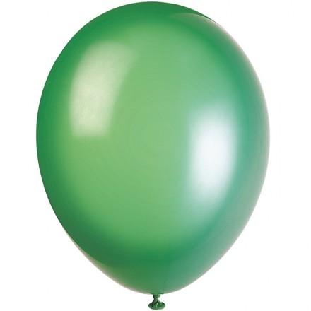 Ballonger Crystal, Grön (100-pack)