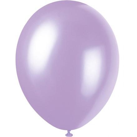Ballonger Metallic, Lila (100-pack)