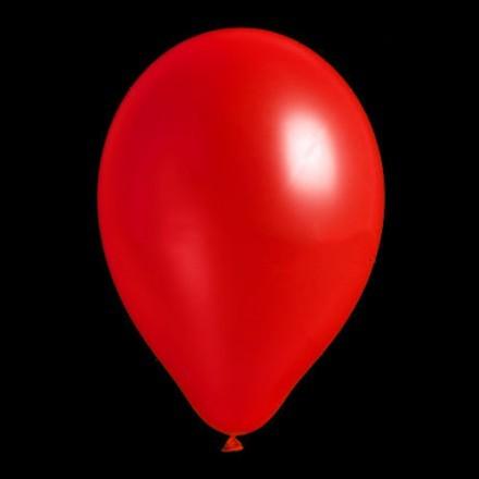 Ballonger Neon, Röd (100-pack)