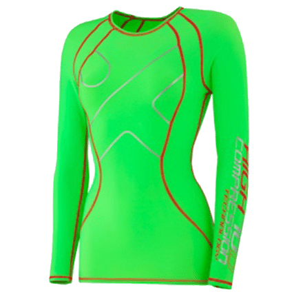 Compression High Ladies Longsleeve, green