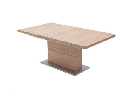 CORATO Förlängningsbart bord A 180 Ek Bianco