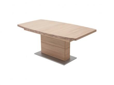 CORATO Förlängningsbart bord B 180 Ek Bianco