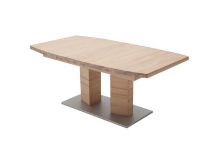 CUNEO Förlängningsbart bord B 180 Ek Bianco