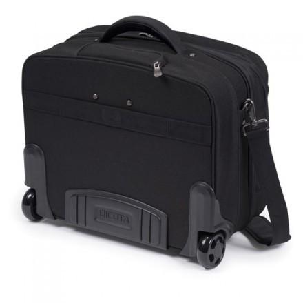 """Dicota Multi Roller PRO resväska för laptops upp till 15,6"""", svart"""