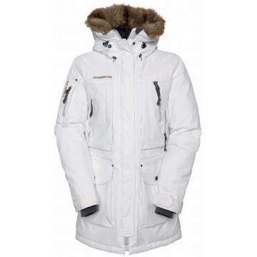 Didriksons Crystal Womens Parka White